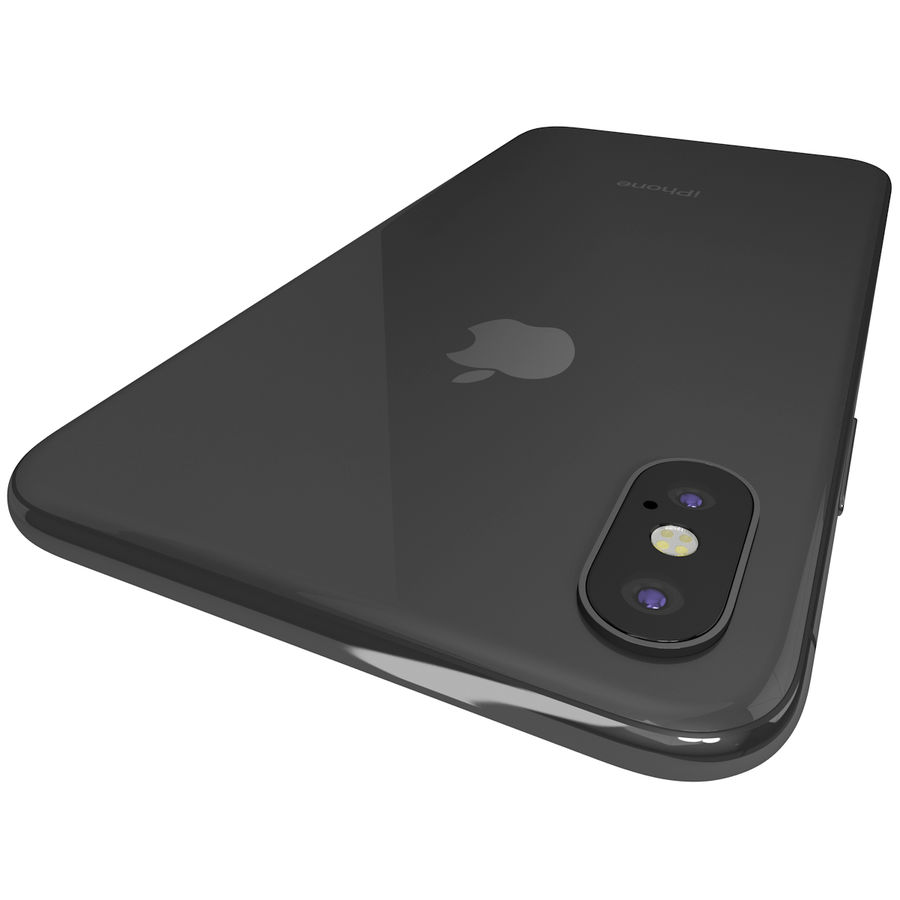 Apple iPhone 8&iPhone Xコレクション royalty-free 3d model - Preview no. 68