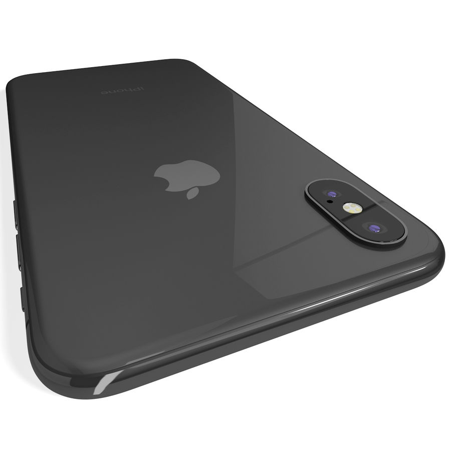 Apple iPhone 8&iPhone Xコレクション royalty-free 3d model - Preview no. 67