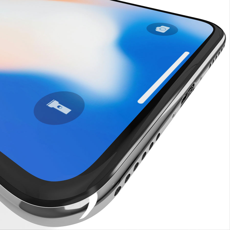 Apple iPhone 8&iPhone Xコレクション royalty-free 3d model - Preview no. 80