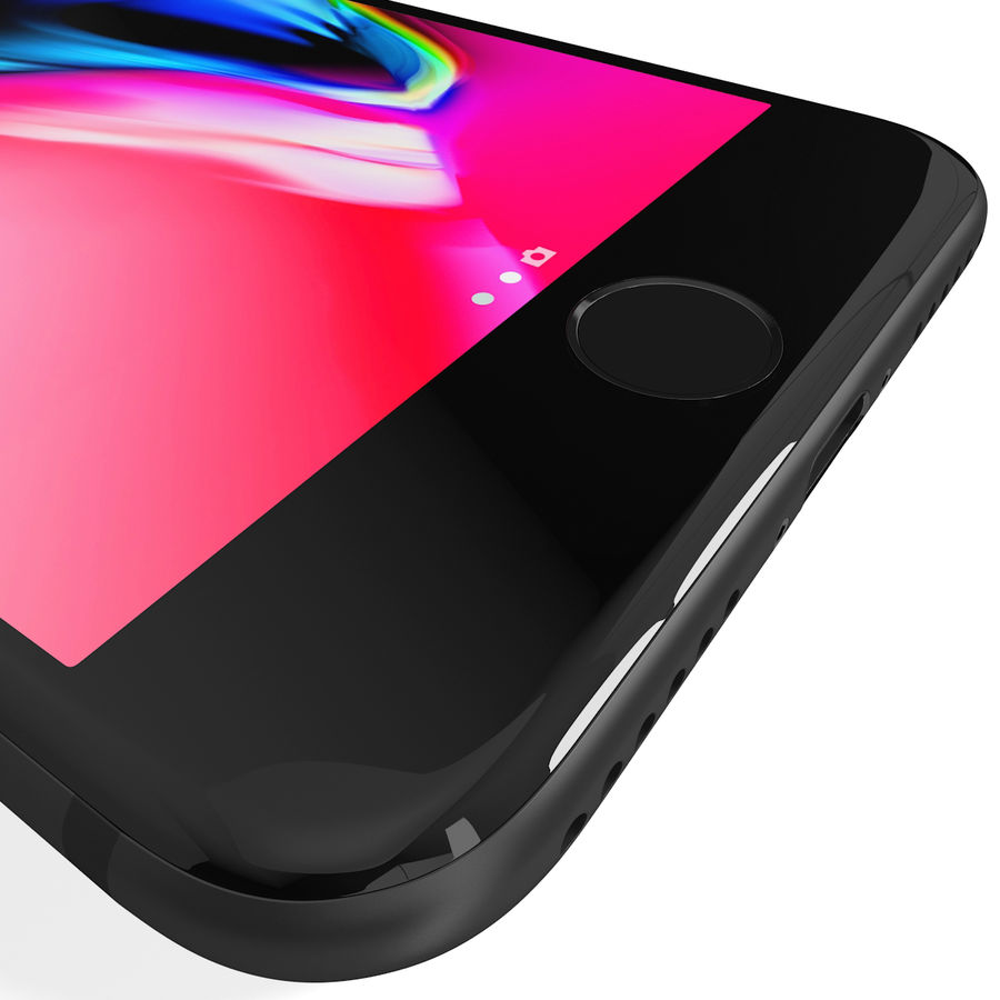 Apple iPhone 8&iPhone Xコレクション royalty-free 3d model - Preview no. 17