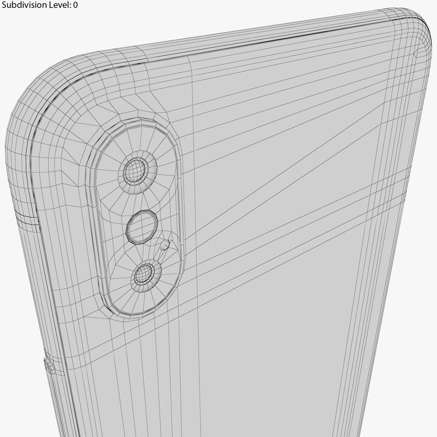 Apple iPhone 8&iPhone Xコレクション royalty-free 3d model - Preview no. 96