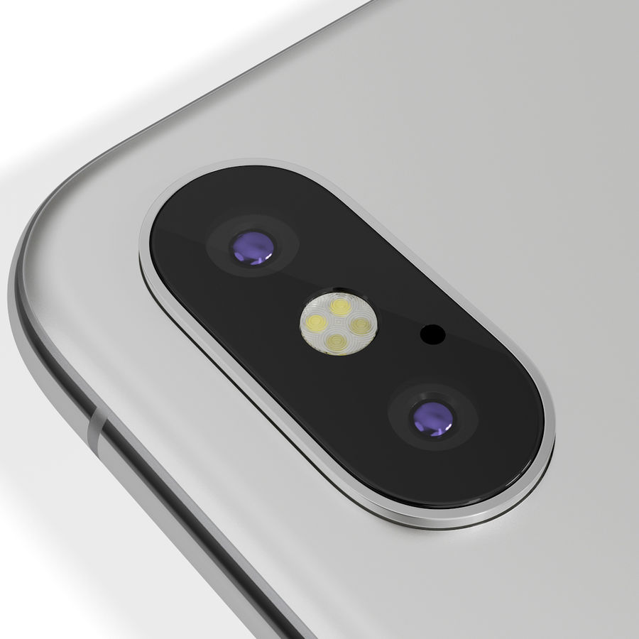 Apple iPhone 8&iPhone Xコレクション royalty-free 3d model - Preview no. 77