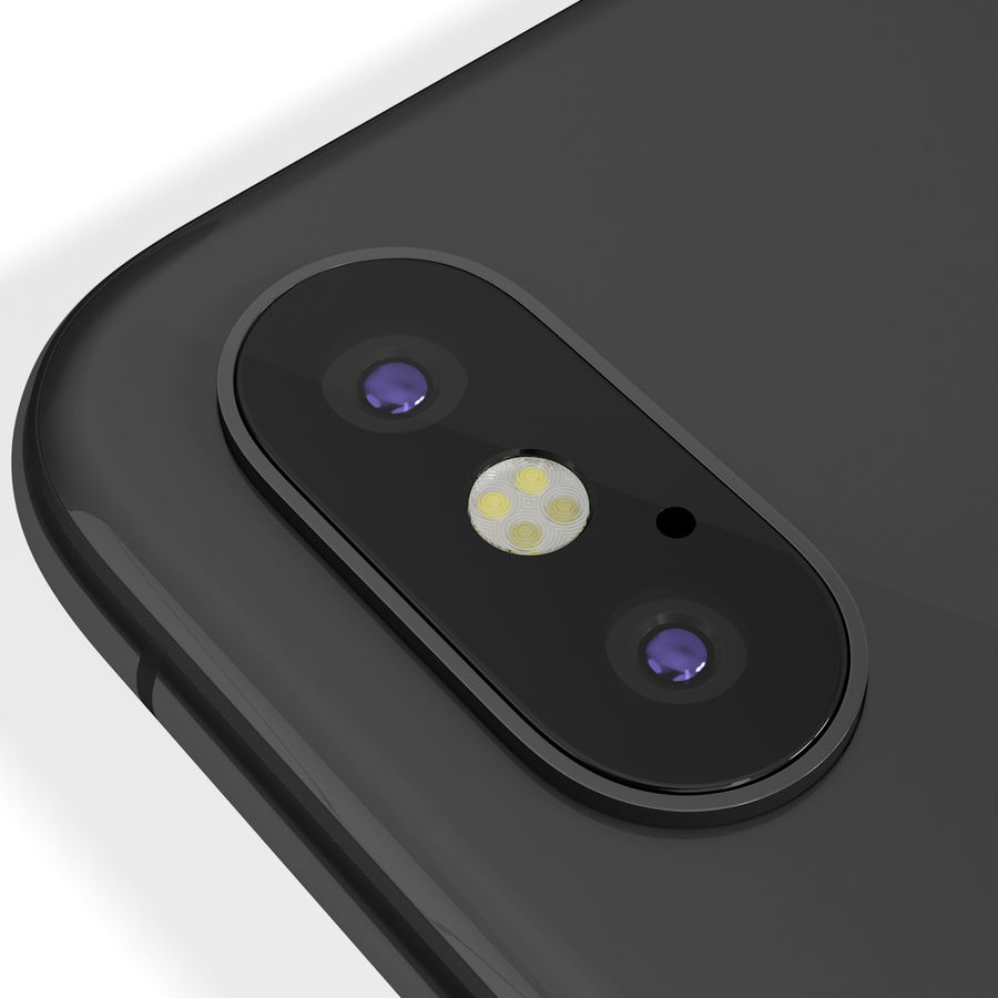Apple iPhone 8&iPhone Xコレクション royalty-free 3d model - Preview no. 72