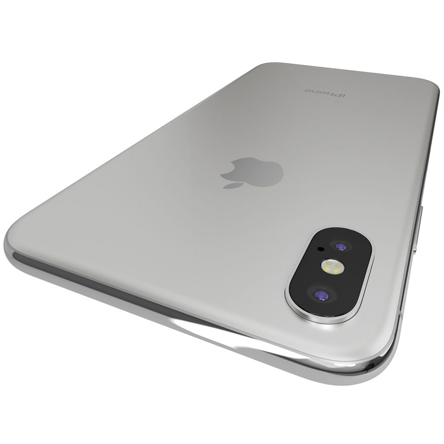 Apple iPhone 8&iPhone Xコレクション royalty-free 3d model - Preview no. 89