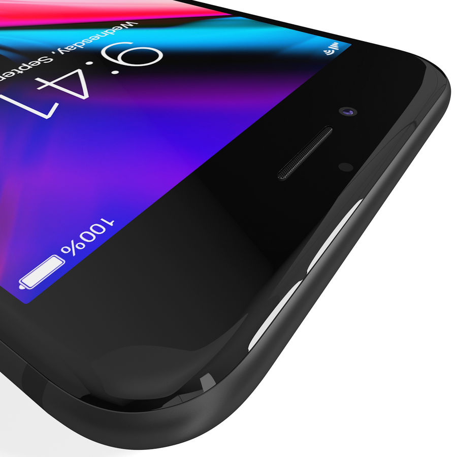 Apple iPhone 8&iPhone Xコレクション royalty-free 3d model - Preview no. 16