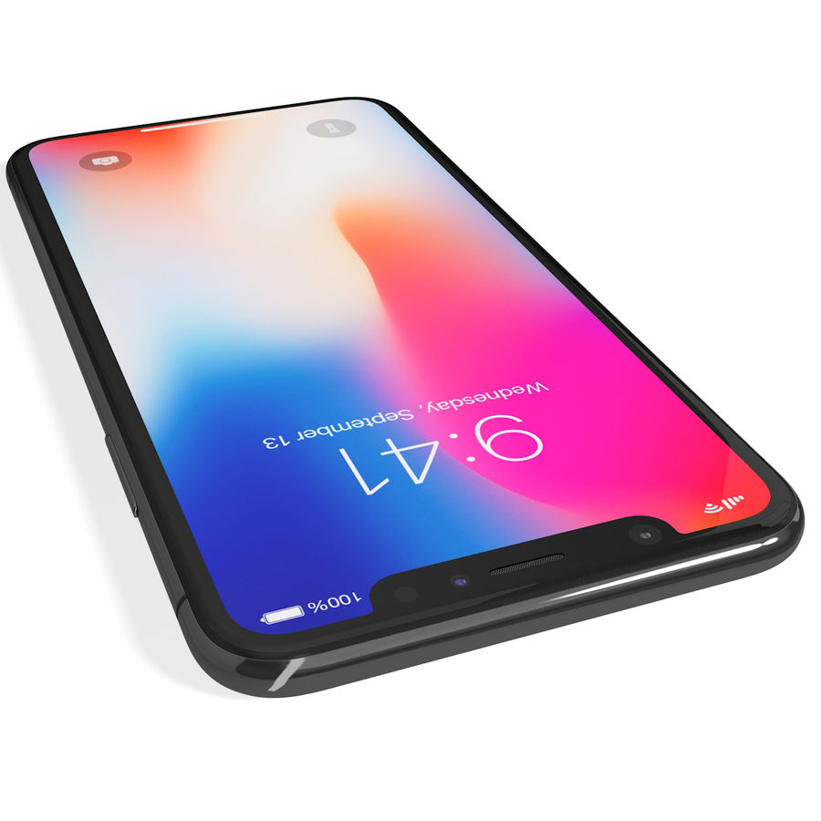 Apple iPhone 8&iPhone Xコレクション royalty-free 3d model - Preview no. 69