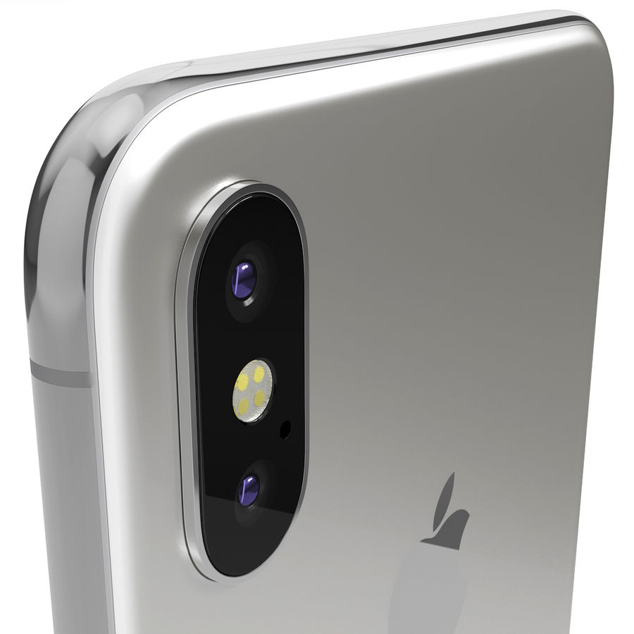 Apple iPhone 8&iPhone Xコレクション royalty-free 3d model - Preview no. 86