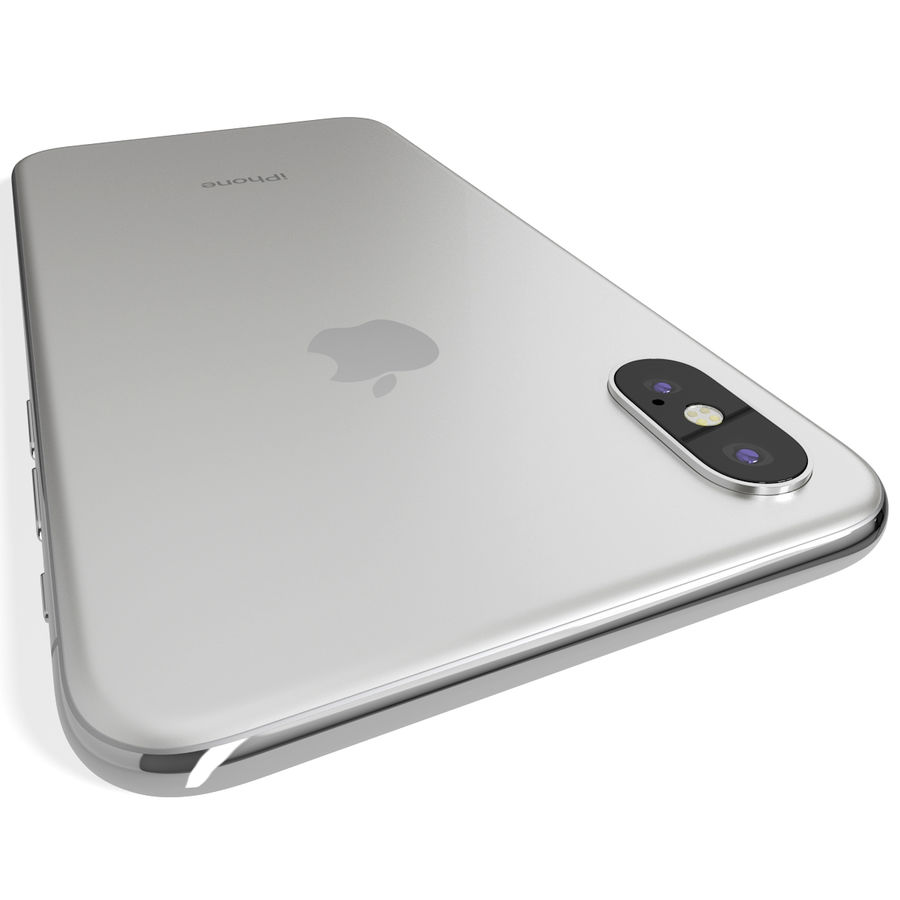 Apple iPhone 8&iPhone Xコレクション royalty-free 3d model - Preview no. 88