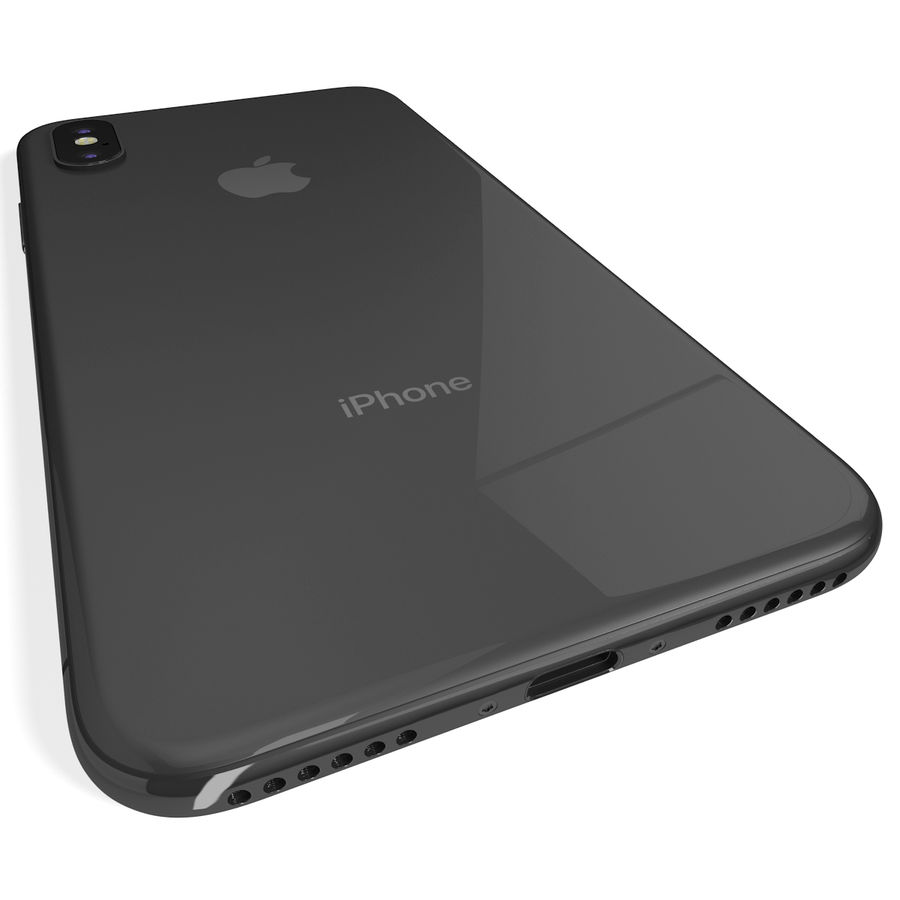 Apple iPhone 8&iPhone Xコレクション royalty-free 3d model - Preview no. 66