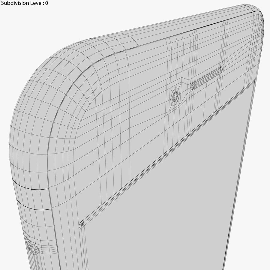 Apple iPhone 8&iPhone Xコレクション royalty-free 3d model - Preview no. 56