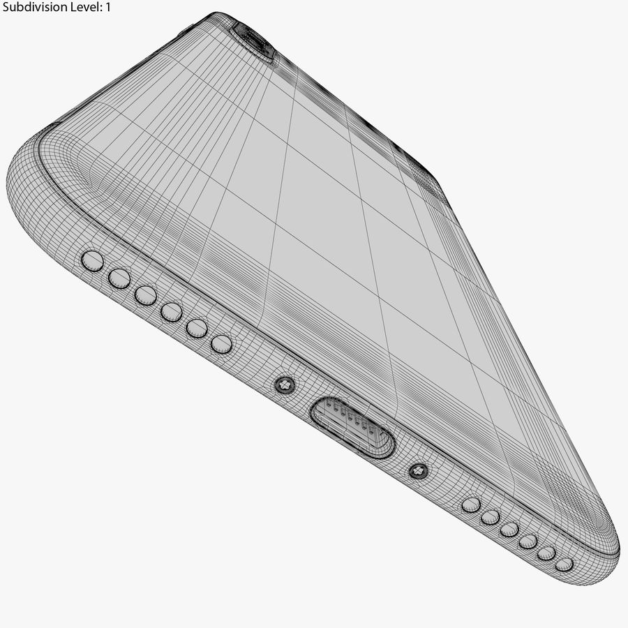 Apple iPhone 8&iPhone Xコレクション royalty-free 3d model - Preview no. 101