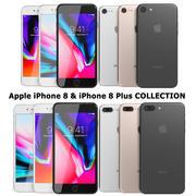 Apple iPhone 8&iPhone 8 Plusコレクション 3d model