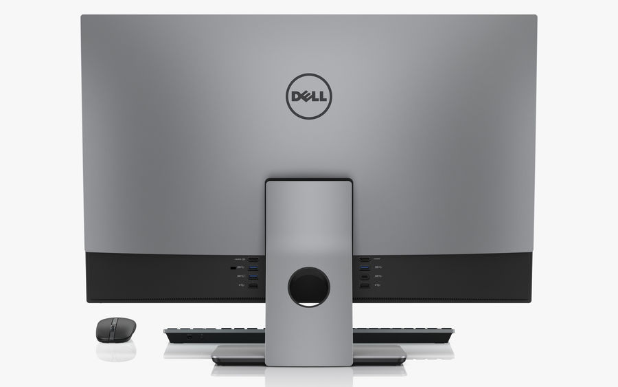 Dell Inspiron 27 7000 All-in-One-Set royalty-free 3d model - Preview no. 3
