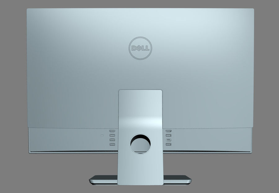Dell Inspiron 27 7000 All-in-One-Set royalty-free 3d model - Preview no. 23