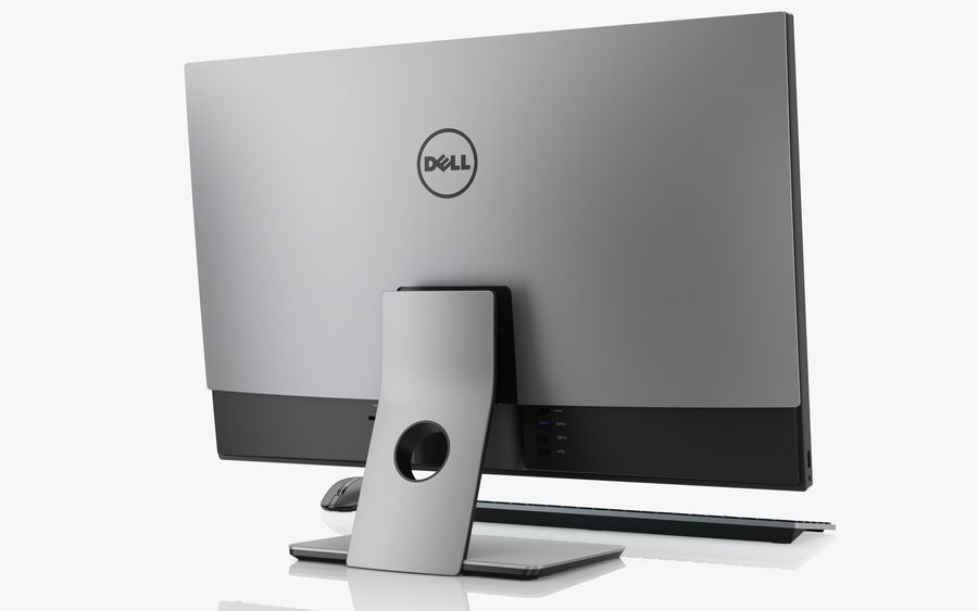 Dell Inspiron 27 7000 All-in-One-Set royalty-free 3d model - Preview no. 5