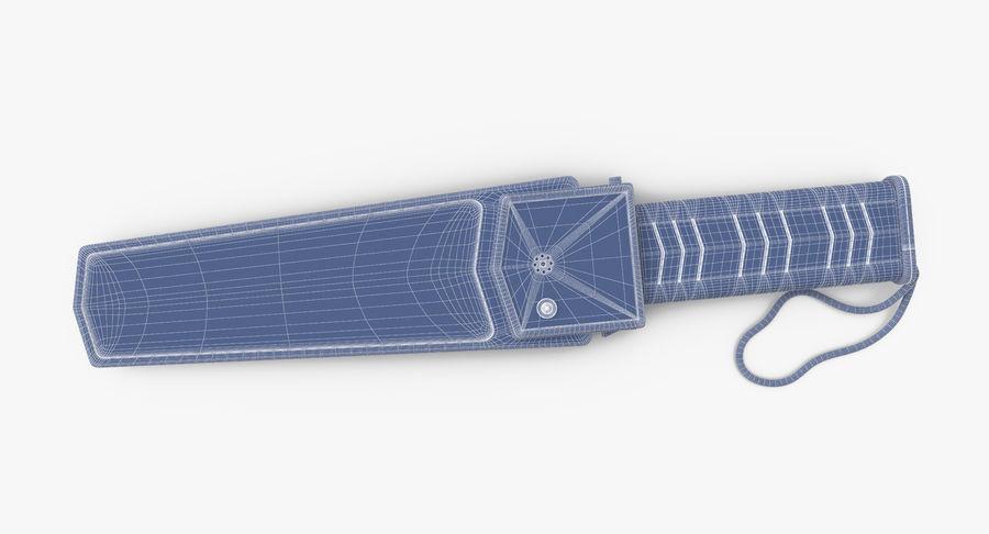 Metaaldetector Handheld en Full Body royalty-free 3d model - Preview no. 24