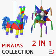 Pinatas 3D Models Collection 3d model