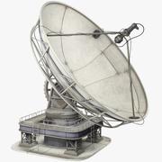 卫星碟V1 3d model