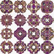 Pack de formes abstraites A2 3d model
