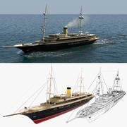 Yacht Nero Simulation 3d model