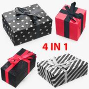 선물 상자 모음 7 3d model