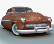 Sedán MERCURY 1949 modelo 3d