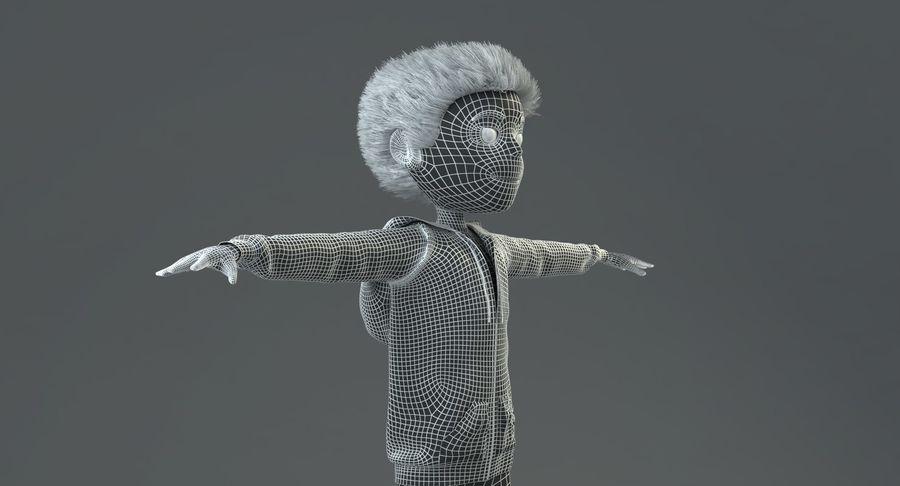 卡通形象 royalty-free 3d model - Preview no. 12
