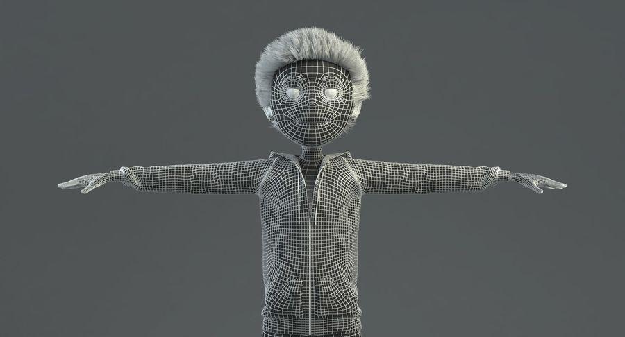 卡通形象 royalty-free 3d model - Preview no. 9