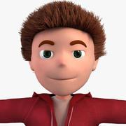 Personaje animado modelo 3d