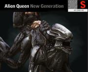 Monstro alienígena rainha criatura HD 3d model