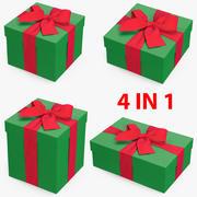 선물 상자 모음 3 3d model