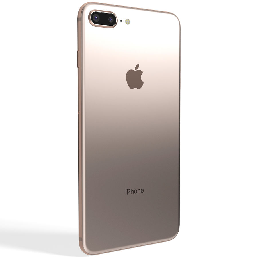 Apple iPhone 8&iPhone 8 Plus&iPhone Xコレクション royalty-free 3d model - Preview no. 79