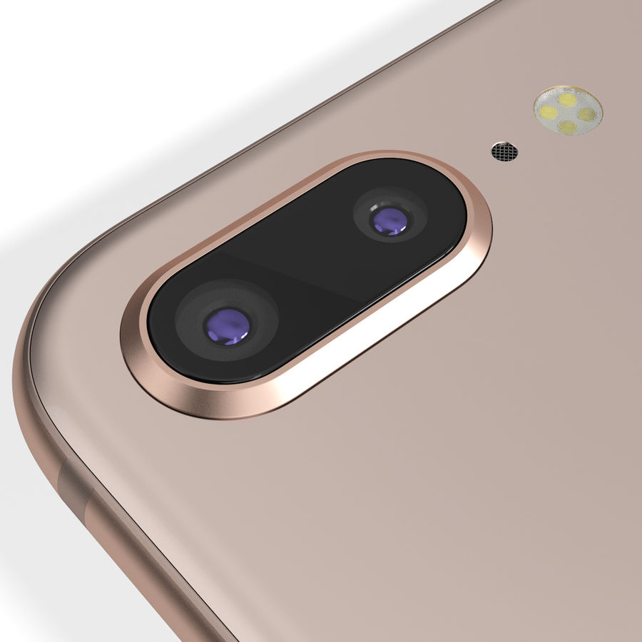 Apple iPhone 8&iPhone 8 Plus&iPhone Xコレクション royalty-free 3d model - Preview no. 88