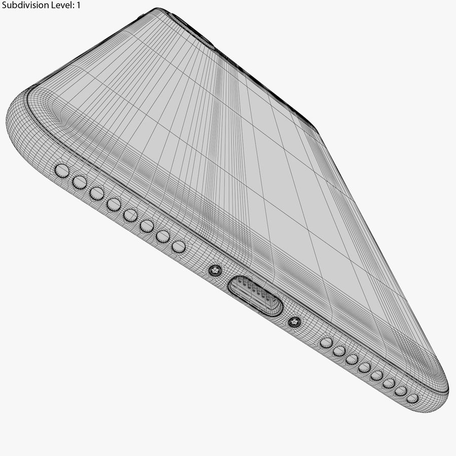 Apple iPhone 8&iPhone 8 Plus&iPhone Xコレクション royalty-free 3d model - Preview no. 117