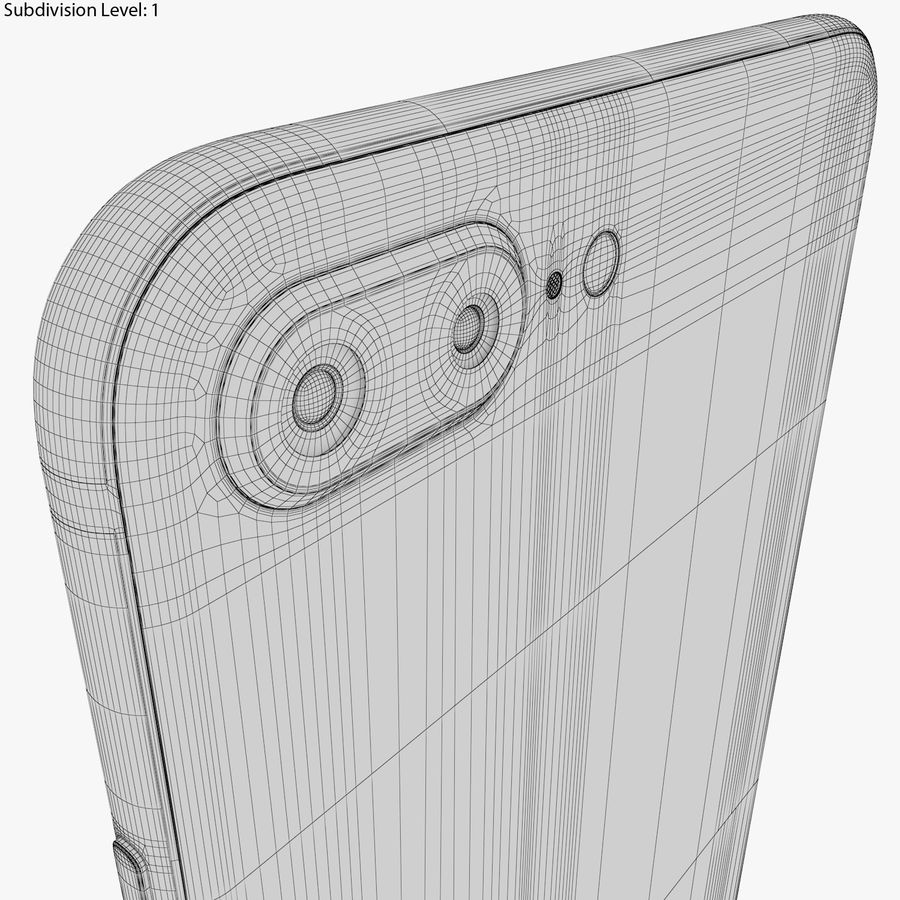 Apple iPhone 8&iPhone 8 Plus&iPhone Xコレクション royalty-free 3d model - Preview no. 113