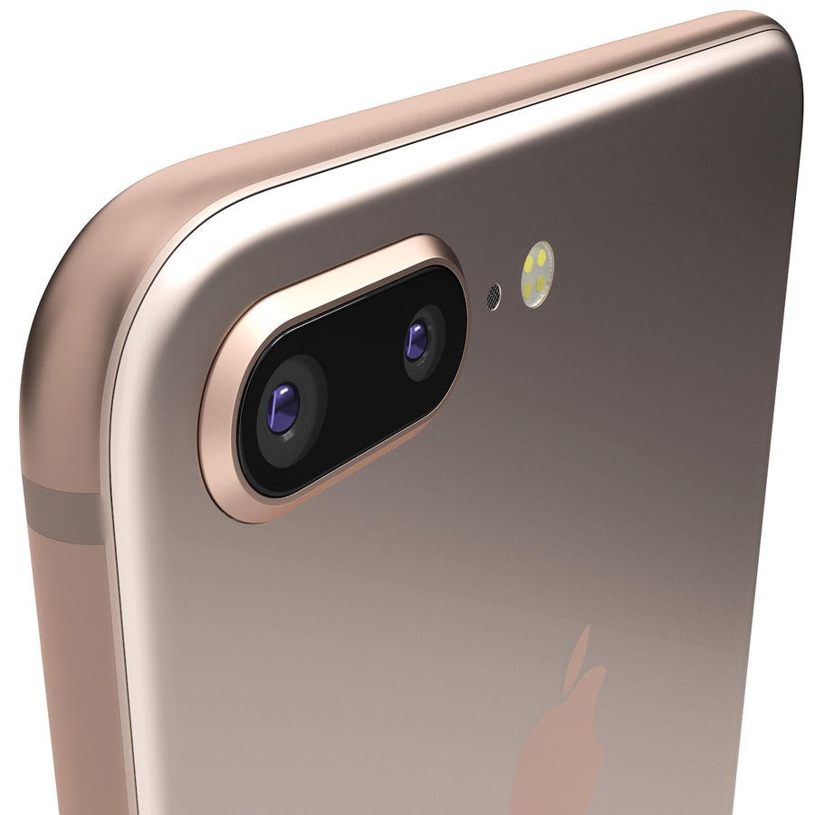 Apple iPhone 8&iPhone 8 Plus&iPhone Xコレクション royalty-free 3d model - Preview no. 81