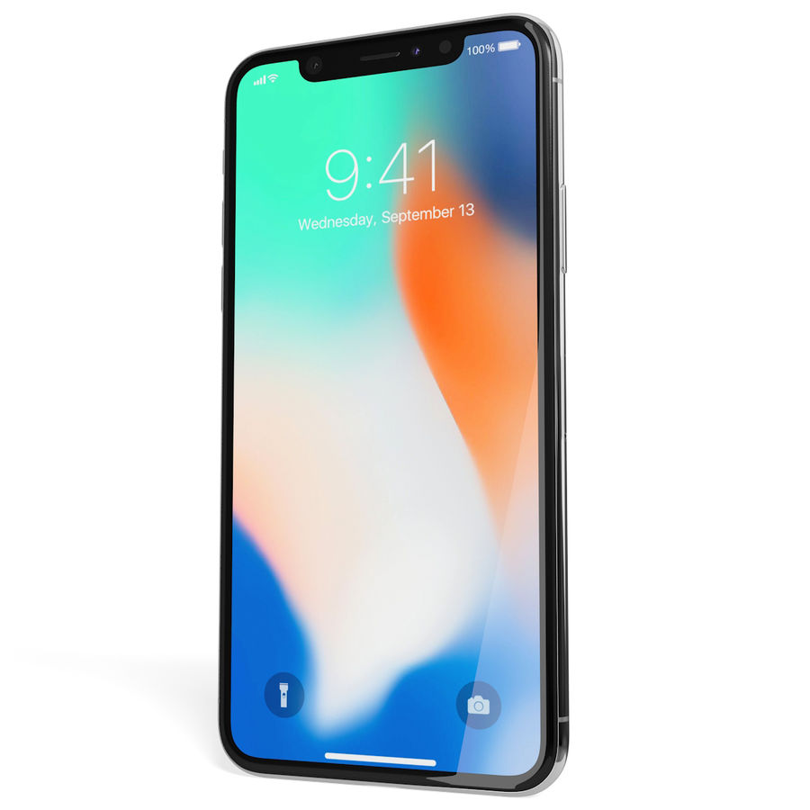 Apple iPhone 8&iPhone 8 Plus&iPhone Xコレクション royalty-free 3d model - Preview no. 138
