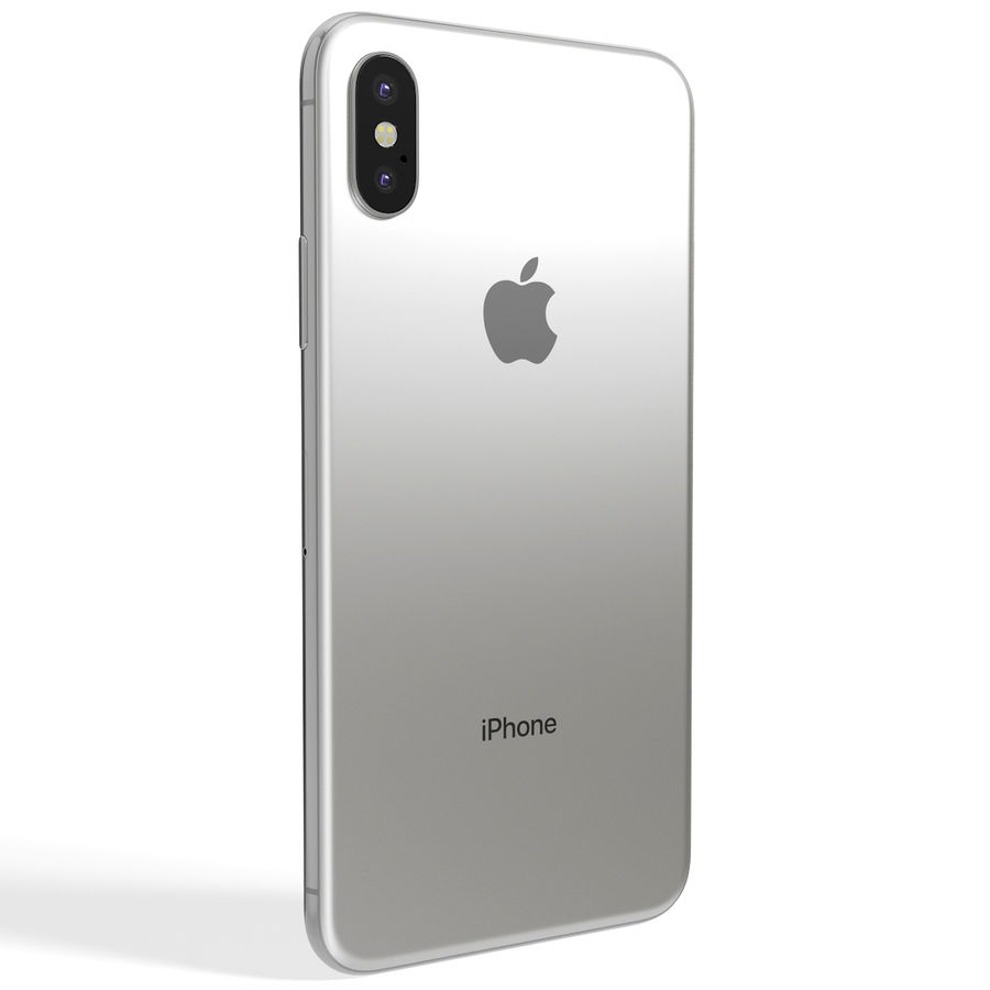 Apple iPhone 8&iPhone 8 Plus&iPhone Xコレクション royalty-free 3d model - Preview no. 137