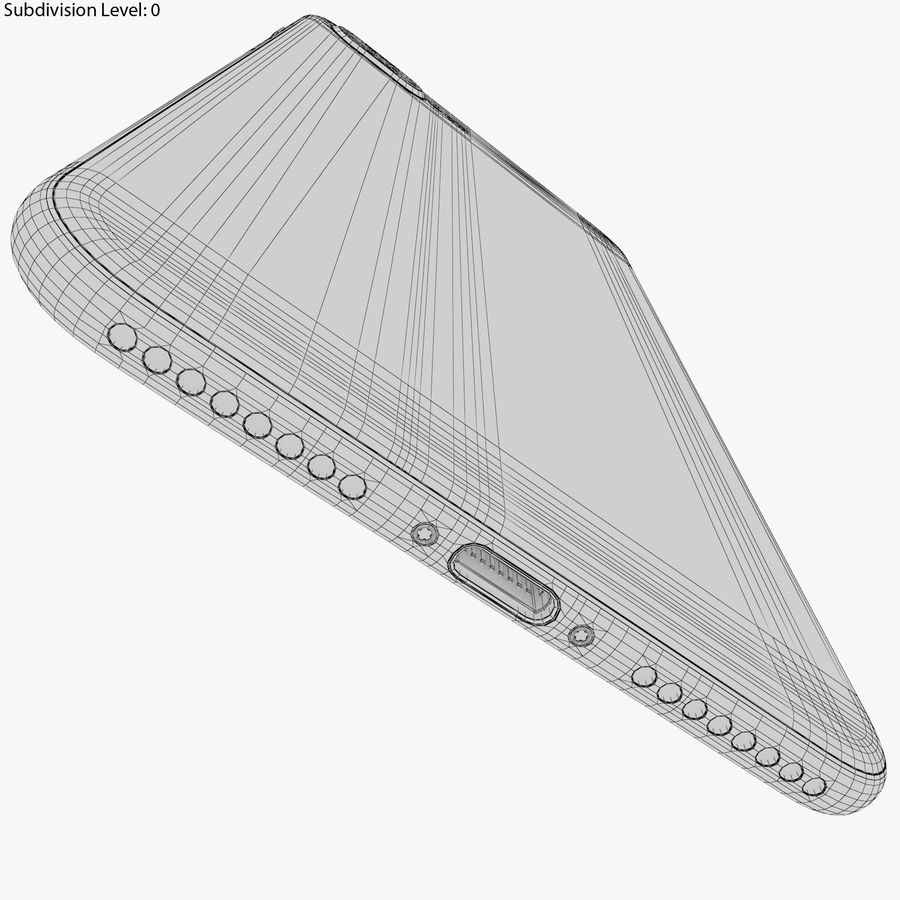 Apple iPhone 8&iPhone 8 Plus&iPhone Xコレクション royalty-free 3d model - Preview no. 116