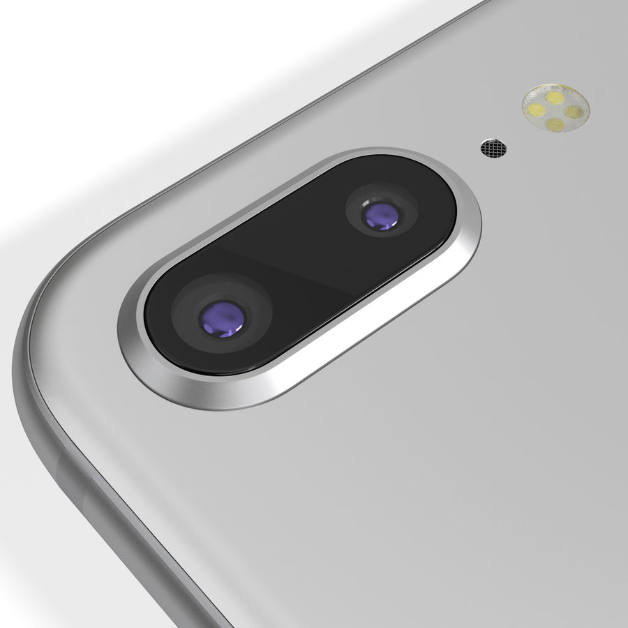 Apple iPhone 8&iPhone 8 Plus&iPhone Xコレクション royalty-free 3d model - Preview no. 104