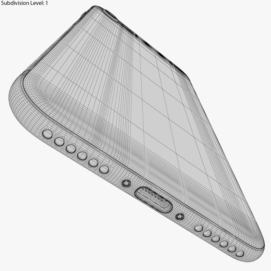 Apple iPhone 8&iPhone 8 Plus&iPhone Xコレクション royalty-free 3d model - Preview no. 59