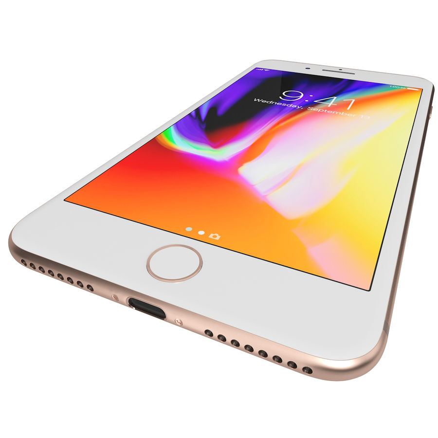 Apple iPhone 8&iPhone 8 Plus&iPhone Xコレクション royalty-free 3d model - Preview no. 87