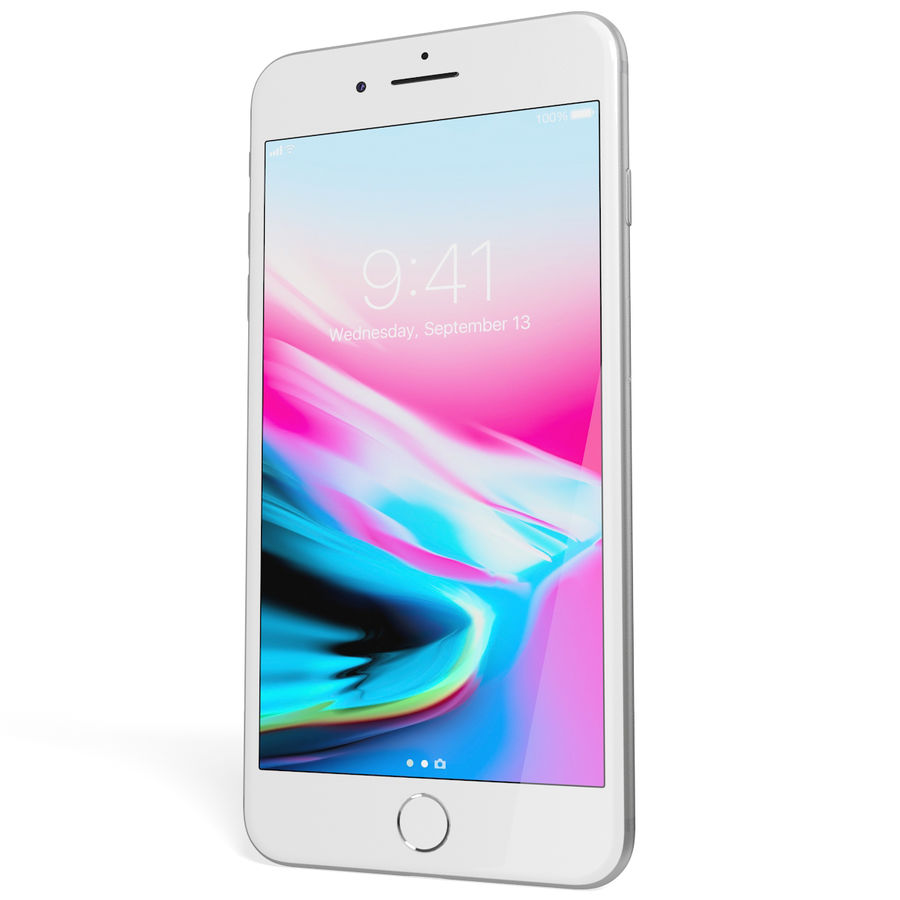 Apple iPhone 8&iPhone 8 Plus&iPhone Xコレクション royalty-free 3d model - Preview no. 96