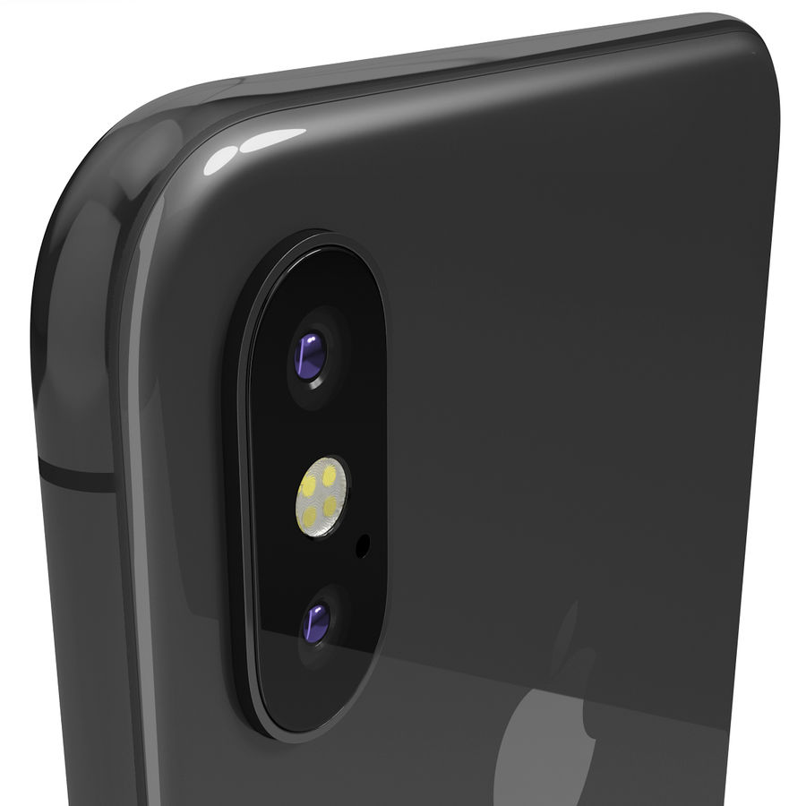 Apple iPhone 8&iPhone 8 Plus&iPhone Xコレクション royalty-free 3d model - Preview no. 123