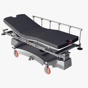 Łóżko podtrzymujące życie 3d model