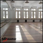 Dance (Balet) Scool Interior modelo 3d