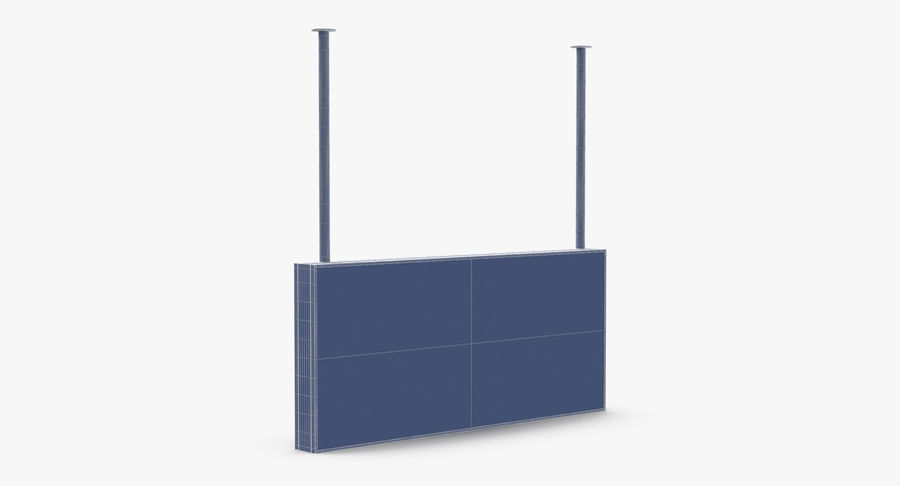Signes de départ et d'arrivée royalty-free 3d model - Preview no. 30