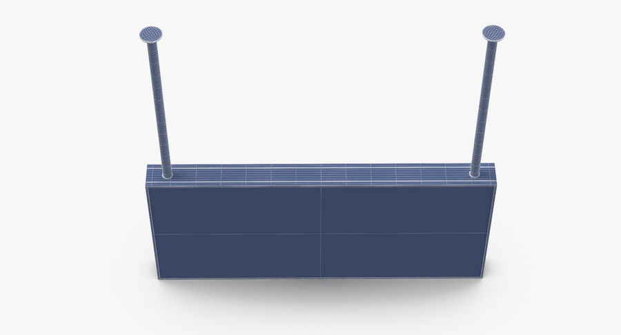 Signes de départ et d'arrivée royalty-free 3d model - Preview no. 32