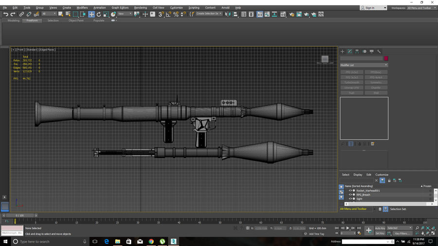 RPG-7 royalty-free 3d model - Preview no. 5