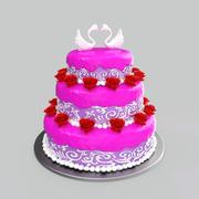 ウエディングケーキ 3d model